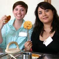 experience making senbei